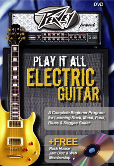 Buy Peavey Presents Play It All Electric Guitar Beginner